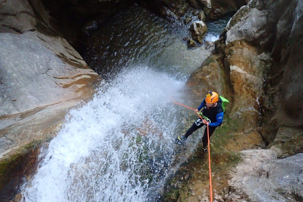 canyon écouges Vercors